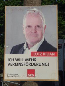 Anfrage an den Kandidaten Lutz Kilian